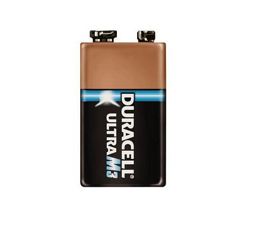 Batterie Duracell Ultra M3 9V Block