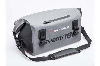 SW-MOTECH Drybag 180 Hecktasche 18L, Grau/Schwarz, Wasserdicht