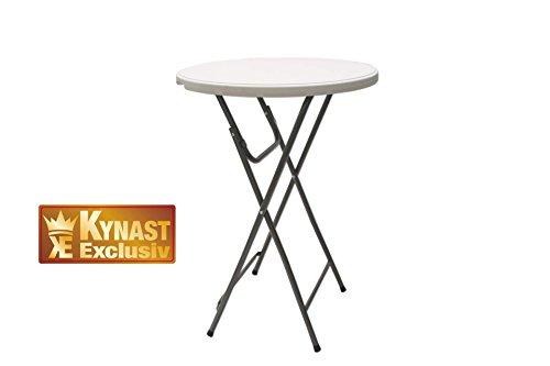 Unbekannt Stehtisch KYNAST klappbar Bartisch Tisch mit Platte 80 cm