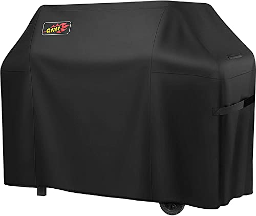 Zovoty BBQ Grill Cover(58-Inch), Heavy Duty Waterproof 600D Oxford Gas Grill Cover, Weather & Fade Resistant 3-4 Burner Barbecue Cover Fits for Weber...