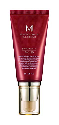 Missha M Perfect Cover Bb Cream Spf42 / Pa +++ No.25 Warm Beige 50ml