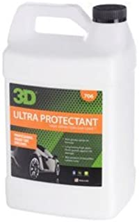 3D Ultra Protectant Tire Shine Spray - 1 Gallon | Beautifies & Protects Rubber & Vinyl | Long Lasting High Shine | Made in USA | All Natural | No Harmful Chemicals