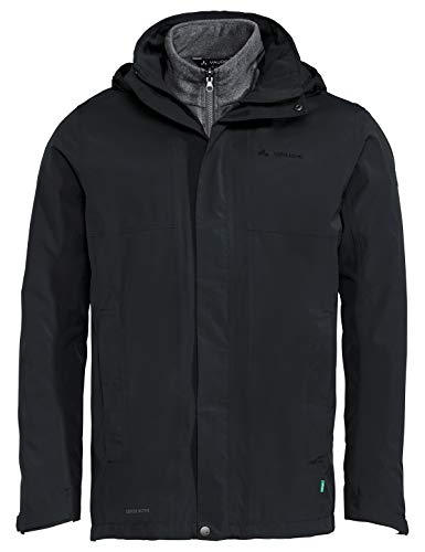 VAUDE Herren Men's Rosemoor 3in1 Jacket Doppeljacke, Black, L