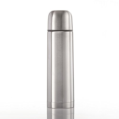 GOODS+GADGETS Edelstahl Thermoskanne Iso-Thermosflasche doppelwandig 1000 ml