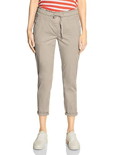 CECIL Damen 372909 Toronto Jeans, Beige(dusty sand beige)W34/L28