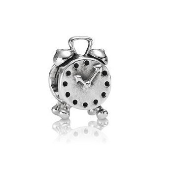 Pandora Reloj Despertador de Plata Sterling Charm Nº 790449