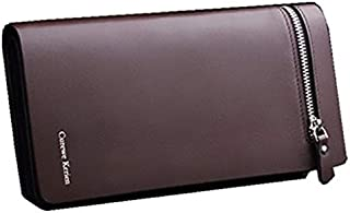 Curewe Kerien Business Card Wallet For Men - Leather, Brown