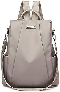 ZPFHB New Fashion School Bag Backpacks Women's Travel Backpack, Travel Bag Oxford Anti-Theft Travel Bag Travel Bag Anti-Theft OxfordKhaki