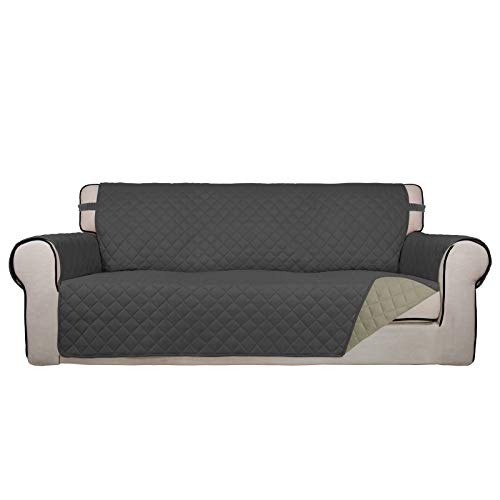 PureFit Reversible Quilted Sofa Cover