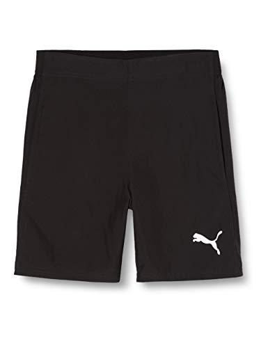 PUMA Erwachsene Liga Sideline Woven Shorts Hose, Black White, XL