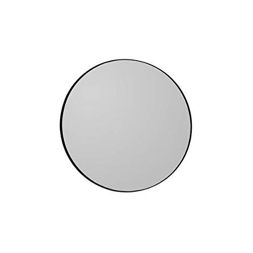 AYTM - Circum - Spiegel - MDF/spiegelglas - zwart - Ø 70cm x H: 2cm