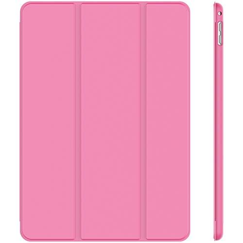 JETech Hülle Kompatibel Apple iPad Mini 4, Schutzhülle mit Ständer Funktion & Auto Schlafen/Wachen, Rosa