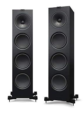 KEF Q950 Floorstanding Speaker, Satin Black (Pair) from KEF