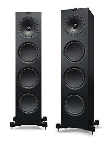 KEF Q950 Schwarz Lautsprecher Paar, HiFi | Heimkino | Standlautsprecher | Boxen | Stereo | High End | 3-Wege