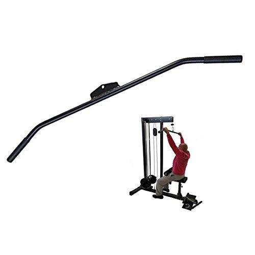 ZLLF Barra Triceps Lat Accesorio De La Barra Desplegable, Adecuado for Bíceps Y Tríceps Ejercicios De Espalda, El Entrenamiento De Fuerza De Remo Sentado, 98cm (Size : 98cm)