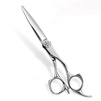 AOLANDUO 6 IN Pro Hair Scissors -High End Japanese AICHI Steel Handmade Hair Cutting Scissors-Razor Edge/Offset Design/Pro Ergonomic for Salon Stylists Beauticians and Barbers with Elegant Case