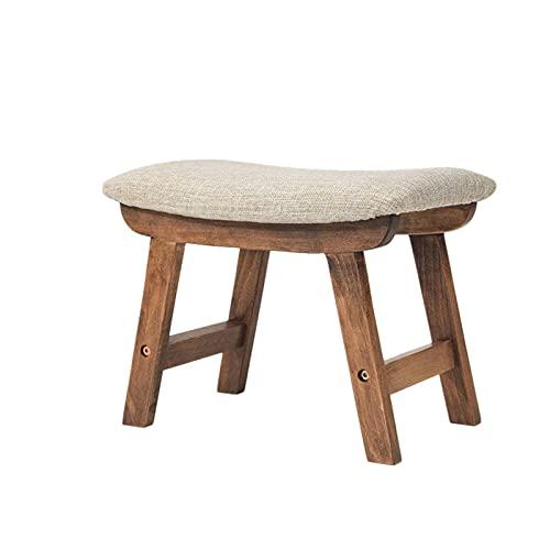 GLALAXY Tabouret en Bois Massif Meubles Meubles Changer de Porte Tabouret Nordic Tissu Soft Soft Soft Table à café Tabouret pour Salon Enfant Enfant (Color : Style 6)