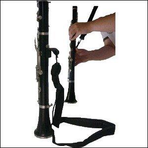 Ortola klarinet met metalen karabijnhaak zwart 1407-001