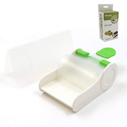 Sushi Maker Set, DIY Sushi Kit, Gemüse Fleisch Roller Weinblätter Roll Maschine, Traubenblätter Rollmaschine Küchenwerkzeug für Anfänger und Profis, Sushi roller