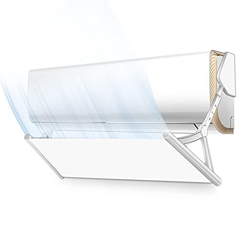 seeYOLO El deflector de aire acondicionado, la pantalla del viento, el aire acondicionado, ajustar la temperatura interior, evitar el aire frío, puede expandirse a 125 cm.