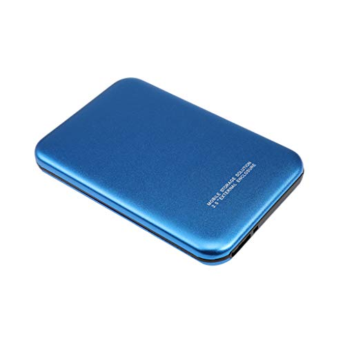 Almencla Disco Duro Externo Portátil - 2.5'' USB 3.0 HDD Memoria Externa para Windows para Linux PC y Laptop - 2T