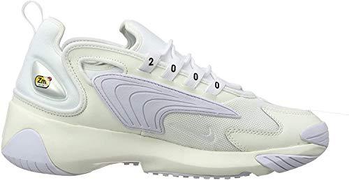 Nike Zoom 2K, Scarpe da Running Uomo, Multicolore (Sail/White/Black 100), 41 EU