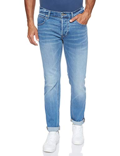Lee Herren Daren Button Fly Jeans, Blau (Light Daze Zx), 32W / 32L