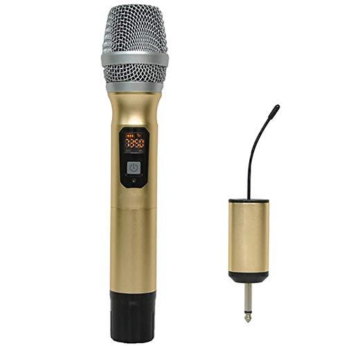 Baiyi draadloze microfoon voor thuiszingen, karaoke, speciale professionele podiumopnames in de buitenlucht