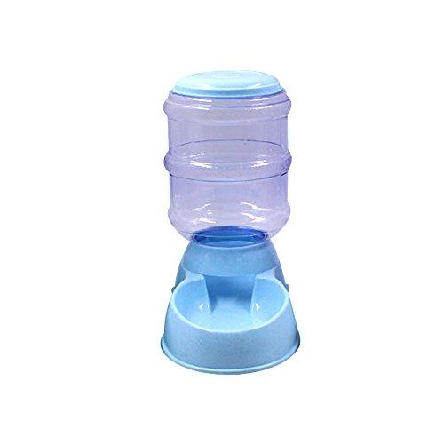 Ritioner Dispensador de Agua Automático para Mascotas de Gatos,3.5L,Fácil de Usar,Comedero y Bebedero Automático con Incorporado Que Previene el Dispositivo de Frenado Excesivo