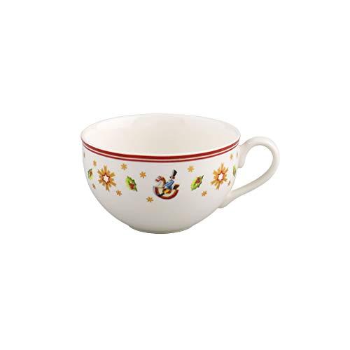 Villeroy & Boch 14-8585-1301 Taza Toy's Delight, para Navidad, 200 ml, Porcelana, Blanco/Multicolor, Té o Café