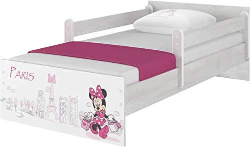 Lit bébé original Disney avec protection anti-chute et matelas