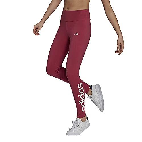 adidas GM5565 W Lin Leg Leggings Womens Wild Pink/White M