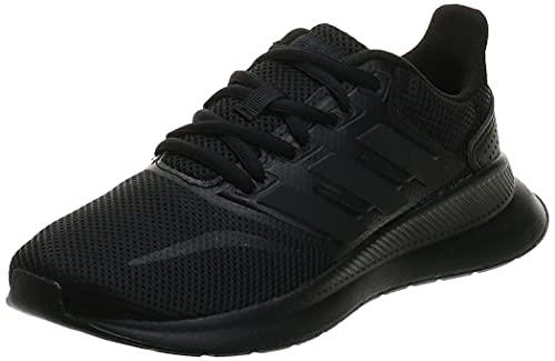 adidas Unisex-Child RUNFALCON K Sneaker, Core Black, 38 2/3 EU