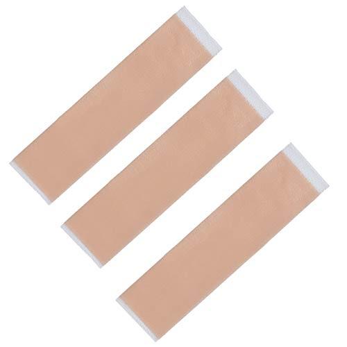 Baalaa 3 piezas de cirugía eficiente eliminación de cicatrices de gel de silicona hoja de terapia parche para acné trauma quemadura cicatriz reparación de la piel tratamiento cicatriz