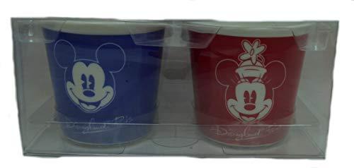 Disney Porzellan Disneyland,Espresso Mug Tasse Kaffeetasse Mickey Minnie