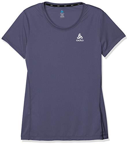 Odlo T-Shirt pour Femme Element Light Crew Neck S Gris Odyssey