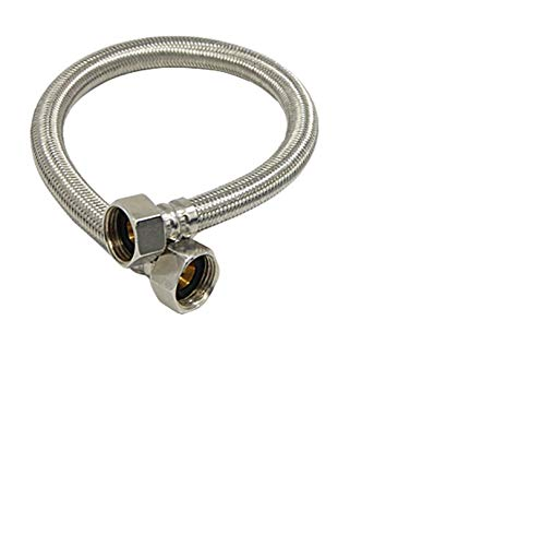 A.O. Smith Heavy Stainless Steel Connection Pipe, 24 Inch - Pack of 2