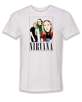 Salt Lake Clothing Nirvana Hanson - White Adult Unisex T-Shirt Medium