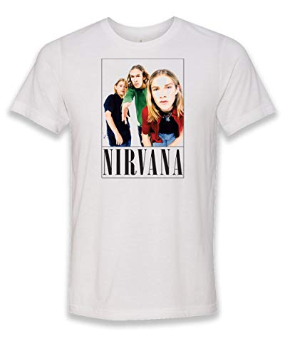 Salt Lake Clothing Nirvana Hanson - White, Adult Unisex T-Shirt (Medium)