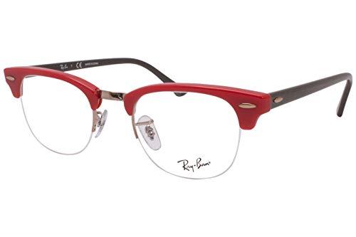 Ray-Ban 0RX4354V Monturas de gafas, Red, 48 Unisex