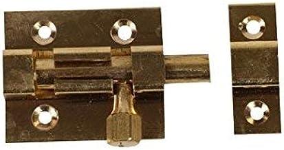 BRICARD 2165 schuifgrendel, Pene rond messing gepolijst 50 x 30