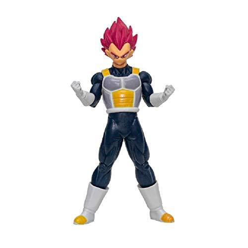 Boneco Dragon Ball Vegeta Super Sayajin God 18 cm