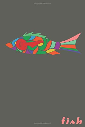 Fish: Isometric Paper Blank Notebook Journal  6x9' 120 Pages | This Book Is Inspired By Inspiration With Shapes And Geometry