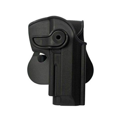 IMI Defense Z1250 Tactical - Pistola giratoria ajustable Beretta 92, Llama 82 y Cheetah FS 85, Yavuz-16 oculta, polímero táctico, color rojo