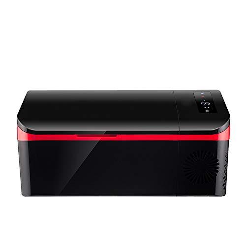 YUTGMasst Mini Refrigerador Portátil con Compresor De 15 litros, Congelador para Refrigerador De Automóvil Pequeño,-20°C, 12V / 24V / 220V, Panel LCD, Conversión Fría Y Caliente Electrica Nevera