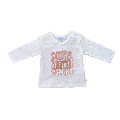 Feetje Love at Shells T-shirt à manches longues - Blanc - 9 mois