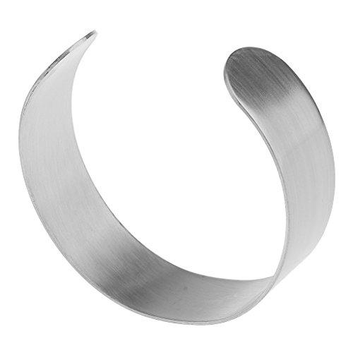 Fenteer Damen Oberarm Armreif, Spiralreif Armspange Oberarmreif - 2cm