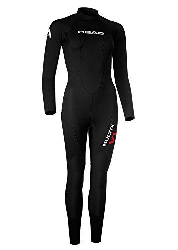 HEAD Multix VL Multisport 2,5 Wetsuit Vrouwen zwart/rood 2019 Triatlon