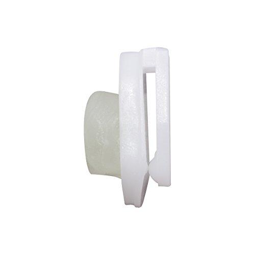 Advantus StikkiCLIPS, 20 Self, Adhesive Clips/Pack (01220), White