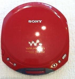 Sony D-E220 Red ESPMAX CD-Walkman Personal CD Player Red Color ESP MAX